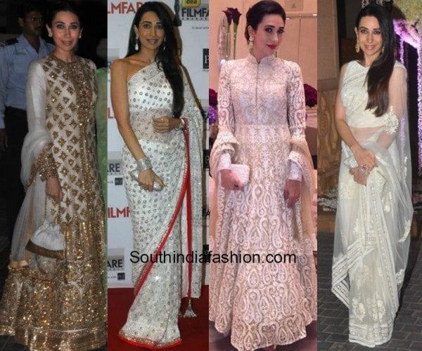 Karisma Kapoor in white feat