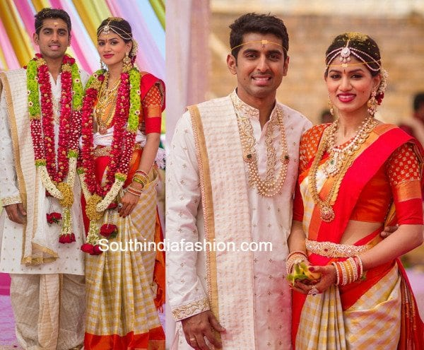 Real Weddings Lahari Manohar Naidu S Son S Wedding