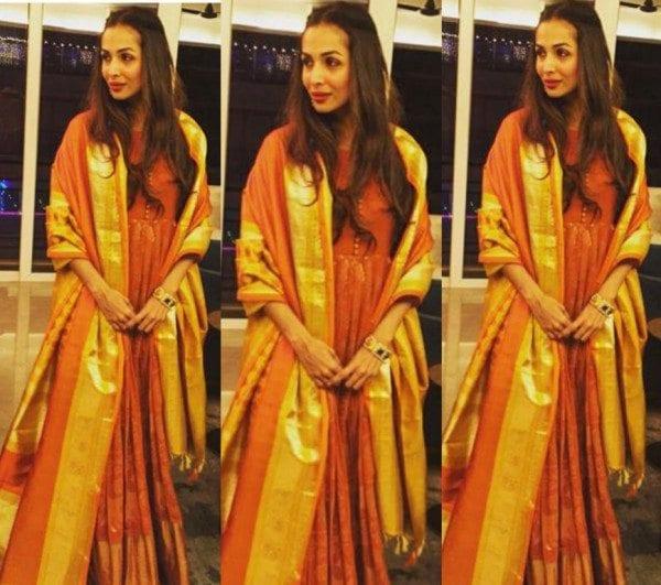 Malaika Arora Khan in Gaurang Shah Anarkali