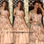 Sridevi in a Manish Malhotra gown