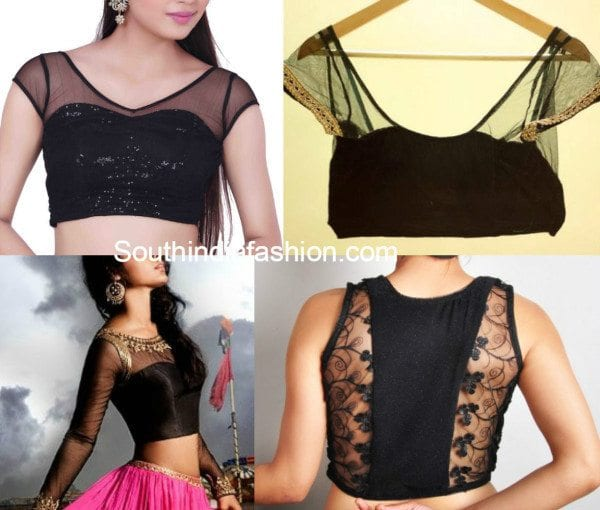 black blouses collage 5