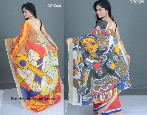 hand_painted_sarees
