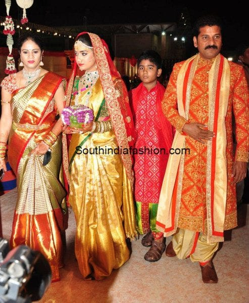 Revanth Reddy Daughter Nymisha Reddy S Wedding South