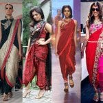 Tips To Flaunt The Edgy Dhoti Sarees!!