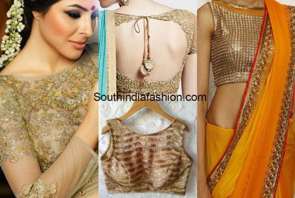 Gold blouses