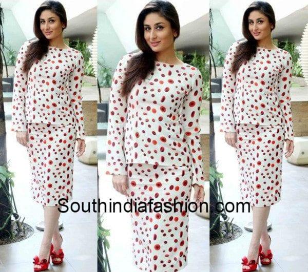 Kareena Kapoor in separates