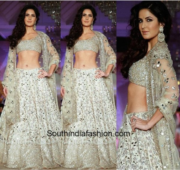 Katrina Kaif in Manish Malhotra at Regal Threads fashion show