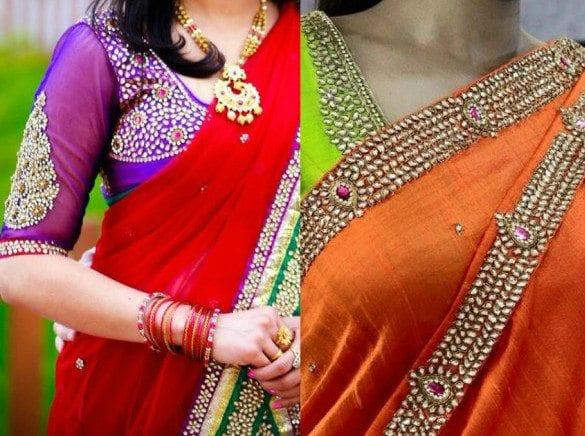 Kundan-Embroidery-Blouses-600x531