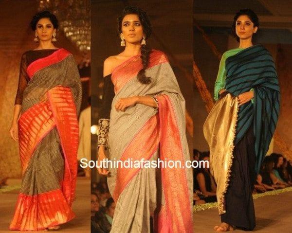 Manish Malhotra collection displayed at the Sahachari foundation