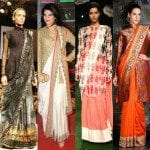 Tips To Flaunt Sarees With Tunics!!