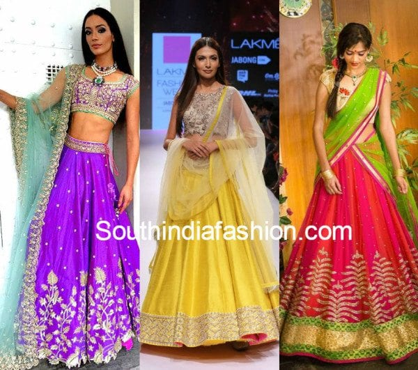 Wedding Outfits - Half Sarees