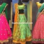 Designer Half Sarees by Ashwini Reddy
