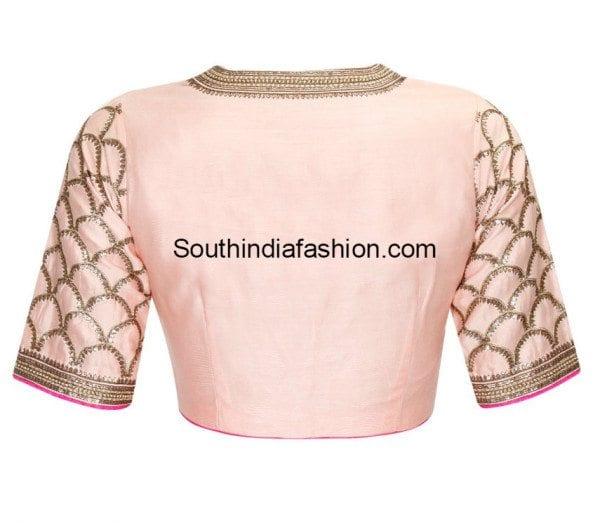 elbow length blouse designs