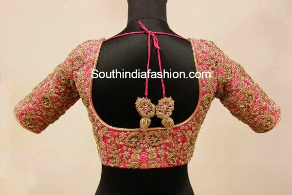 Stunning Wedding Blouse Designs South India Fashion