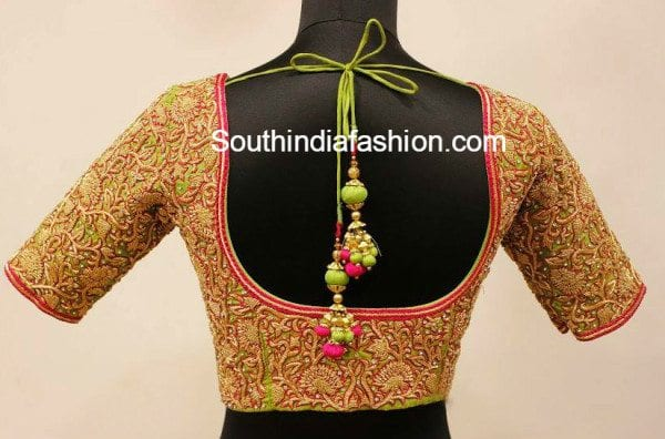 Blouse Designs 2016 New Collection : Today, trendsetters do not wear ...