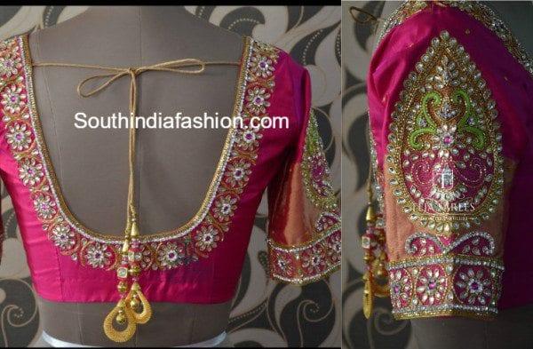 kundan_work_bridal_blouse