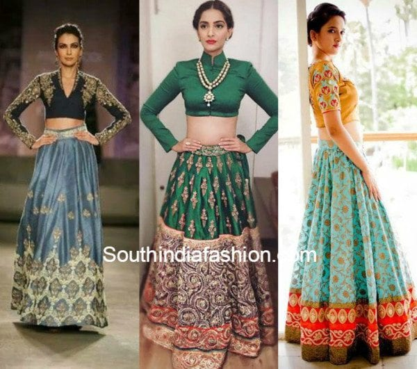 Crop Top Lehengas 3