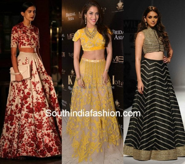 Crop Top Lehengas 6