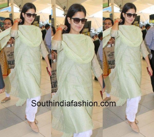 katrina kaif in salwar kameez 2018 � south india fashion
