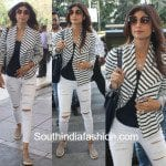 Shilpa Shetty's Airport Look