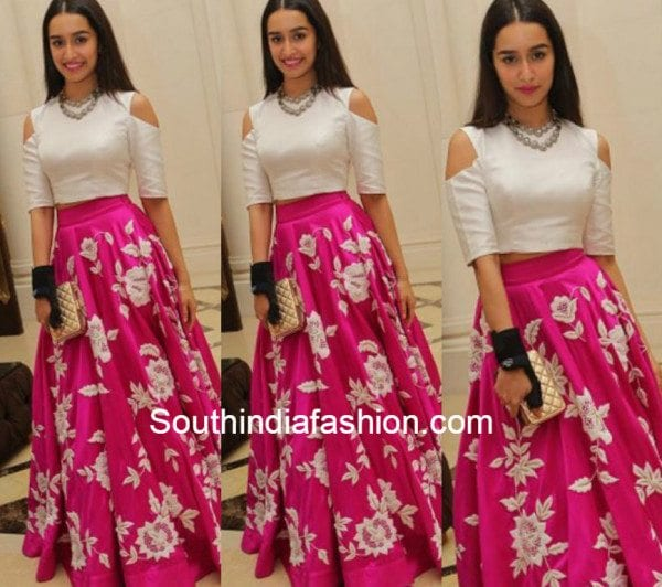 Shraddha Kapoor In Padmasitaa South India Fashion