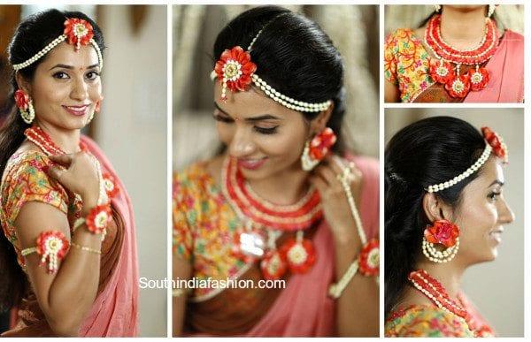 flower jewellery for weddings