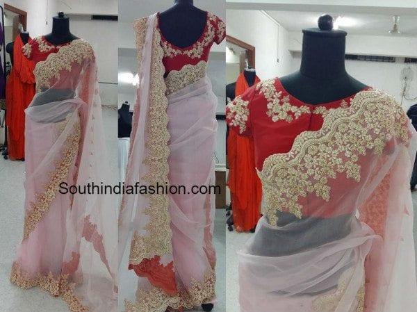 madhuveram designer sarees