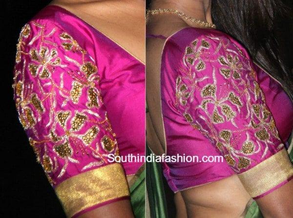 maggam_work_designer-blouse_for_silk_sarees
