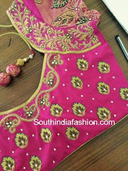 pattu_saree_blouse_designs