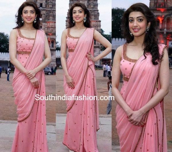 pranita_subhash_pibk_saree_corset_blouse_at_gudi_sambaralu