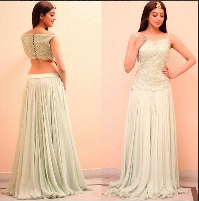 Pranitha Subhash In House Of Trove Gown –South India Fashion