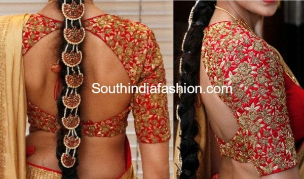 10 Gorgeous Maggam Work Blouse Designs by Shilpa Reddy
