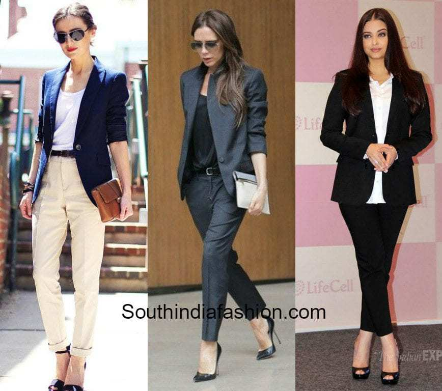 corporate outfit ideas south india fashion