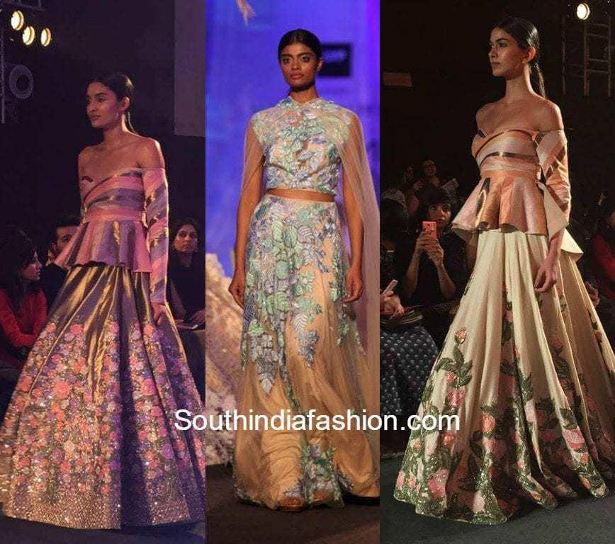 manish malhotra lakme fashion week 2018 � south india fashion