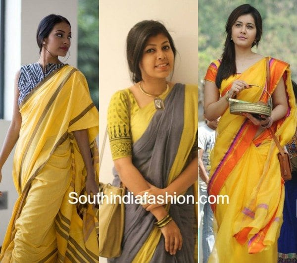 Sarees for work