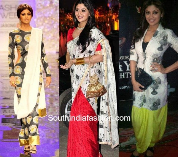 Shilpa Shetty in Quirky Outfits
