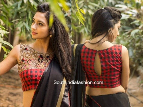 Trendy Cut Work Blouses by House of Blouse