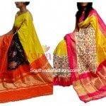 Ikat Silk Sarees by Vynam