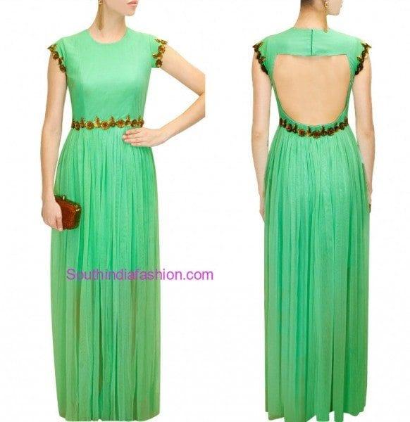 pranthi_reddy_green_gown