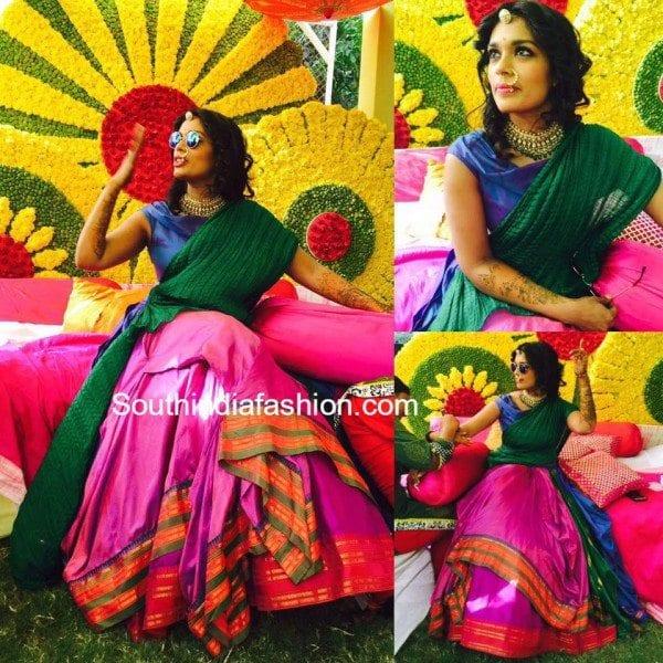 sreeja_chiru_daughter_mehndi_sangeet_photos
