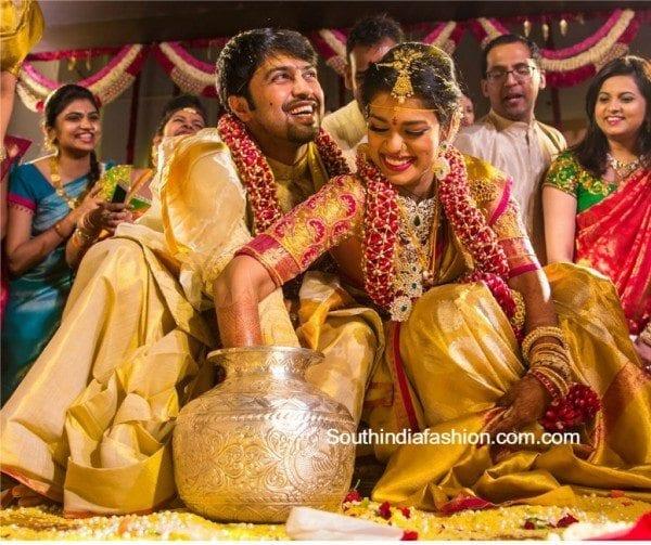 Sreeja Kalyan Marriage Photos Girls Dhoti