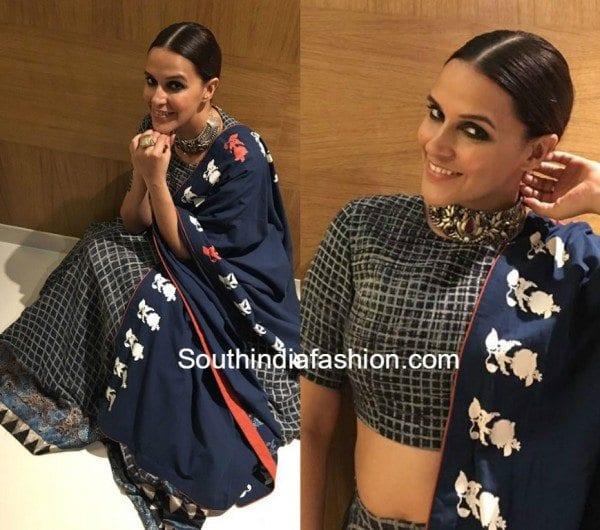 Neha Dhupia in Natasha J Label 600x530
