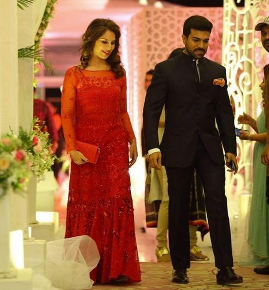 ea6180079c42 Upasana Kamineni at Sreeja s Wedding Reception – South India Fashion