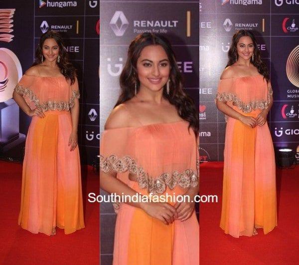 Sonakshi Sinha at GIMA Awards 2016