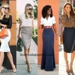 How to rock skirts at work?!