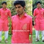 Allu Sirish in Shravan Kumar Outfit