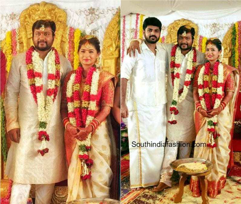 Bobby Simha And Reshmi Menon S Wedding Photos South