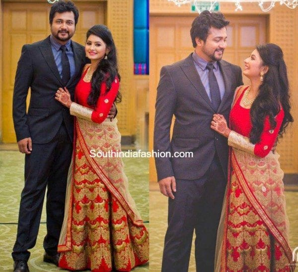 bobby_simha_reshmi_menon_wedding_reception