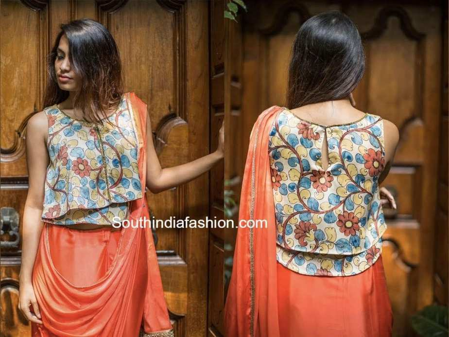 Kalamkari blouses by house of blouse south india fashion for Designs com