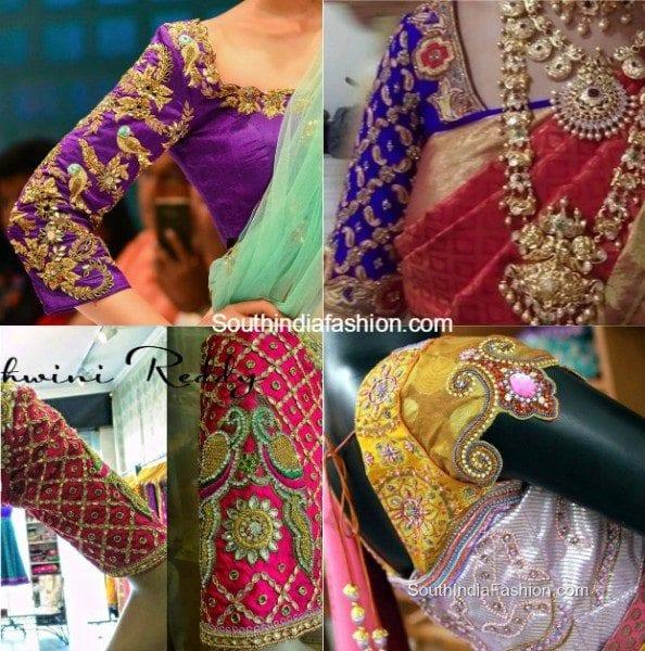 maggam_work_blouse_sleeves